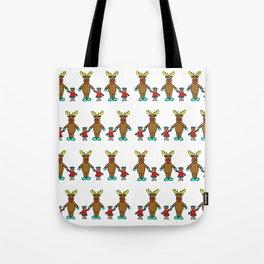 Cute christmas buddies pattern Tote Bag