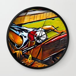 Lets play Pool Wall Clock