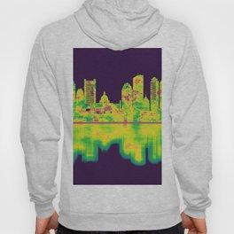 Boston Massachusetts Skyline Hoody