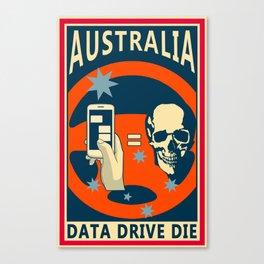 Data Drive Canvas Print