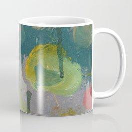 Bleeding Paint Circles Coffee Mug