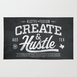 KLCTVEfusion Create and Hustle Rug