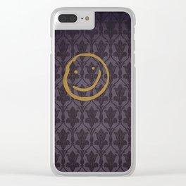 Sherlock 05 Clear iPhone Case