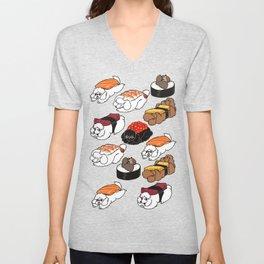 Sushi Poodle Unisex V-Neck