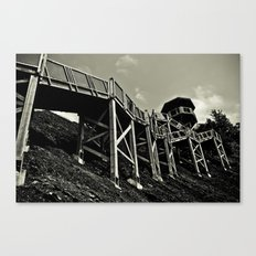 Mont Morency Perch Canvas Print