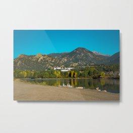 The Stanley Hotel Estes Park Colorado Rocky Mountains Metal Print