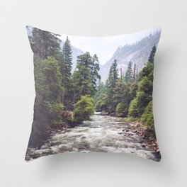 Rivers Lead the Way Throw Pillow