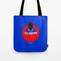 italy Tote Bags featuring Italy by Skiller Moves