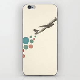 Leaving on a Jet Plane iPhone Skin