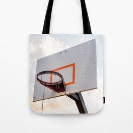 basketball hoop 4 Tote Bag