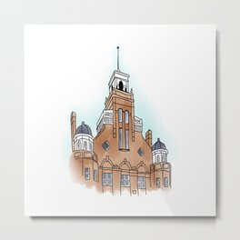 Main Hall  Metal Print