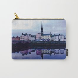 Ayr Town And Auld Bridge  Carry-All Pouch