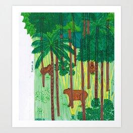 Forest28 Art Print