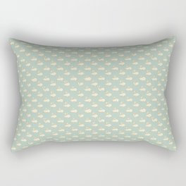 Running Rabbits Rectangular Pillow