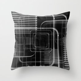 Xray 3D Illustration Throw Pillow