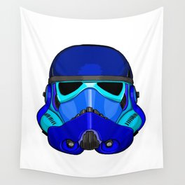 Blue Trooper Wall Tapestry