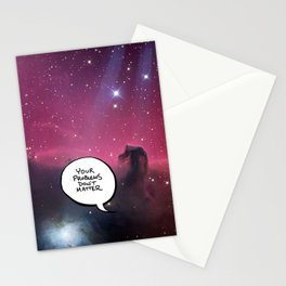 Your Problems Don't Matter Stationery Cards