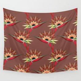 Strelitzia 1b Wall Tapestry