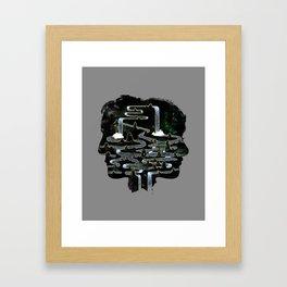 Mine is Yours Framed Art Print