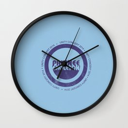 pawnee/eagleton unity concert  Wall Clock