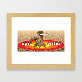 SandKing - Epic Enter Framed Art Print
