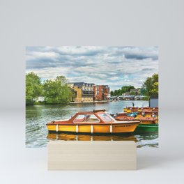 Boats For Hire At Windsor Mini Art Print