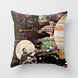 Reaching for Jupiter Throw Pillow