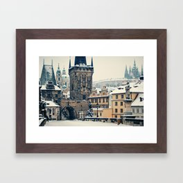 Karlův Most , Prague Framed Art Print