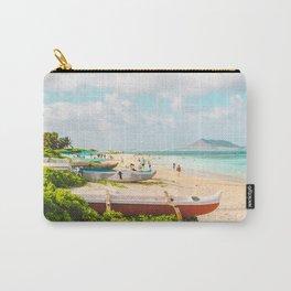 Lanikai Beach Carry-All Pouch