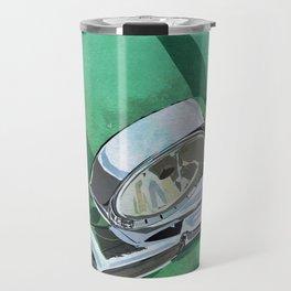 Classic Retro Car Art Series #1 in Spearmint Green Travel Mug