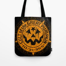 Cult of the Great Pumpkin: Alchemy Logo Tote Bag