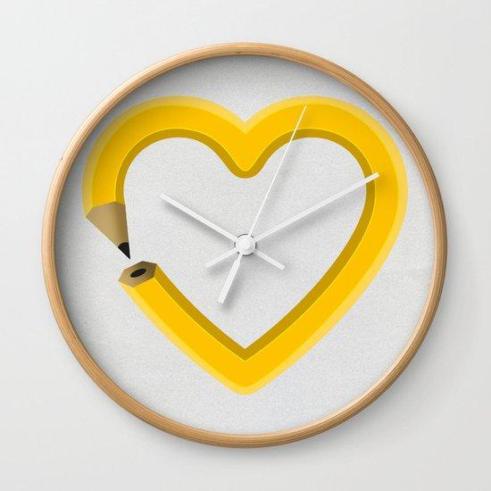 Love to draw Wall Clock