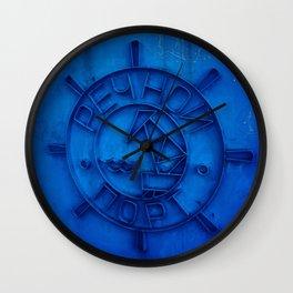 River port Wall Clock