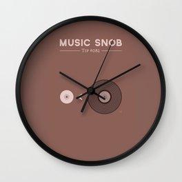 """Still NOT """"The New Vinyl"""" — Music Snob Tip #082.5 Wall Clock"""