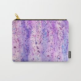 abstract purple wisteria watercolor Carry-All Pouch