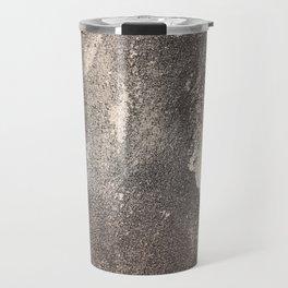 Sandpaper Attrition Rubbing Texture Travel Mug