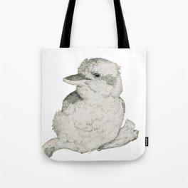 Contended Kookaburra Tote Bag