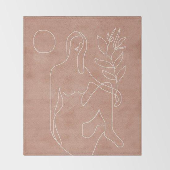 Engraved Nude Line II by flowline