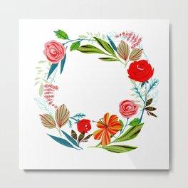 Rose ring Metal Print