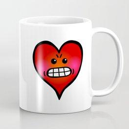 Angry Heart Coffee Mug