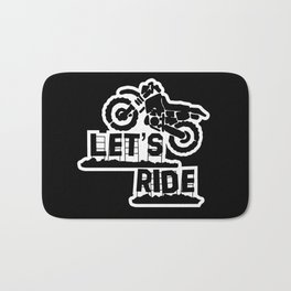 Wanna Ride? Bath Mat