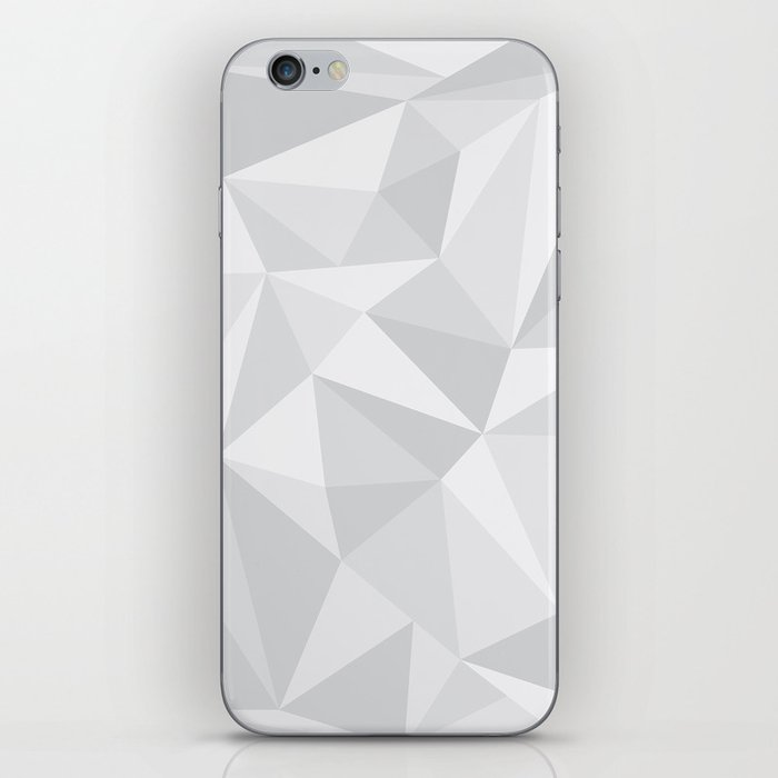 White Deconstruction iPhone Skin