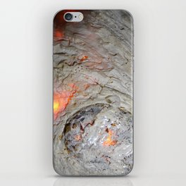 Flaming Seashell 3 iPhone Skin
