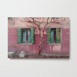 Venice House Metal Print