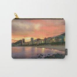 Skyline Rio de Janeiro Sunset Carry-All Pouch