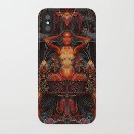 Triptych: Shakti - Red Goddess iPhone Case