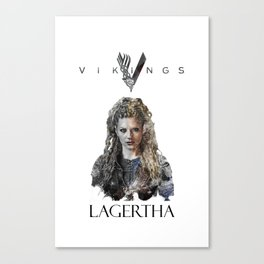 Lagertha - Vikings Canvas Print