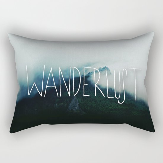 Wanderlust: Columbia River Gorge Rectangular Pillow