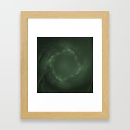 Emerald Eye Framed Art Print