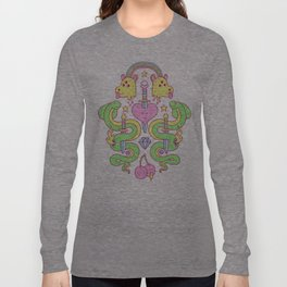 snakes&daggers&dogheads&otherstuff Long Sleeve T-shirt